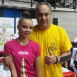 Dina Averina campionessa mondiale assoluta di ginnastica ritmica desio campionato di A1