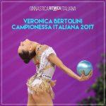 Veronica Bertolini campionessa italiana assoluta quinta volta 2017 - Arezzo