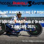 Copertina handcycling bike GP Monza